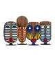 Modern African 1 Umasqu Figurine