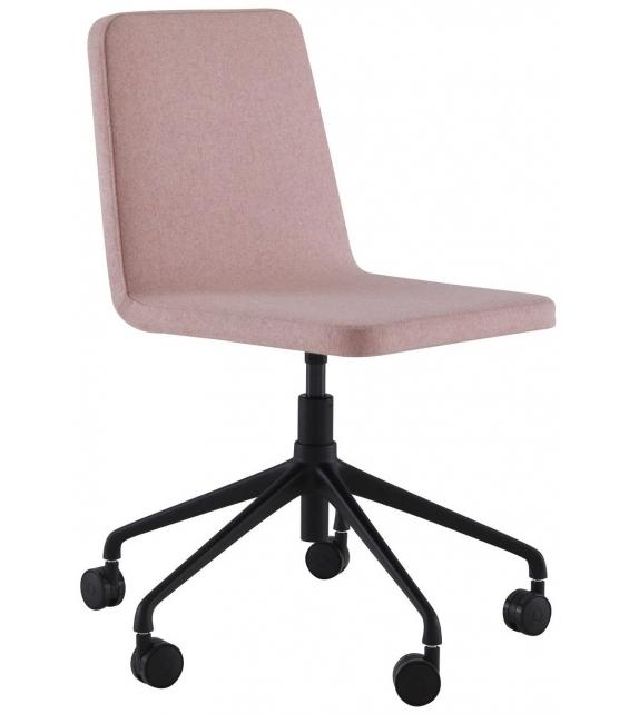 Vik Ligne Roset Swivel Chair on Castors