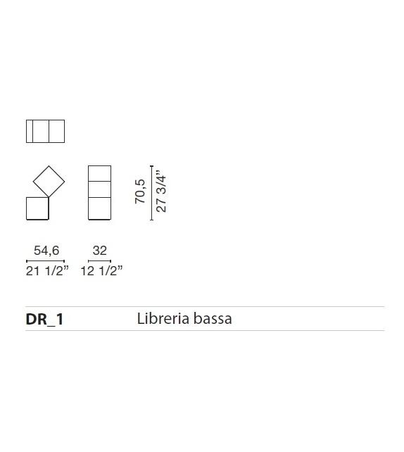 Listo para entregar - Drop Biblioteca Cappellini