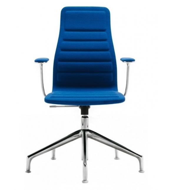 Lotus (Medium) Chair with 5-Spoke Cappellini