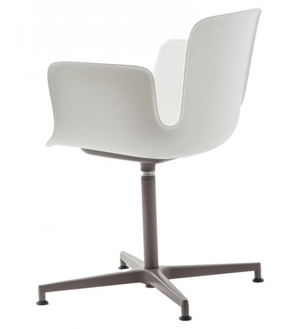 Juli Plastic Cappellini Small Armchair with 5 Star Base
