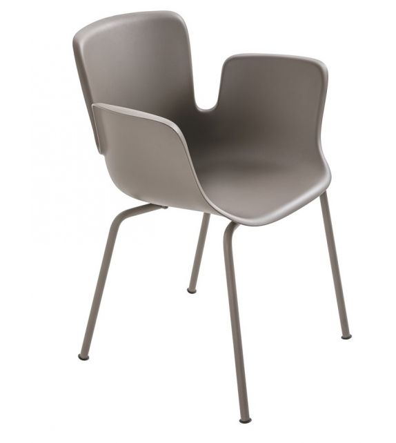 Juli Plastic Cappellini Small Armchair