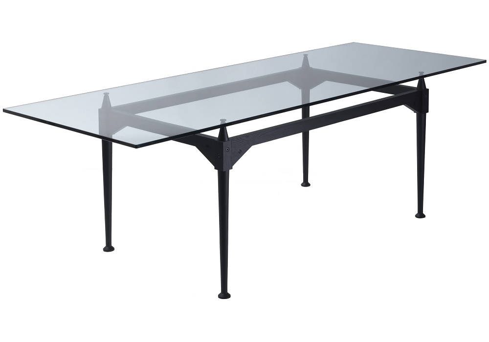 839 tl3 table avec plateau en verre cassina milia shop for Plateau en verre