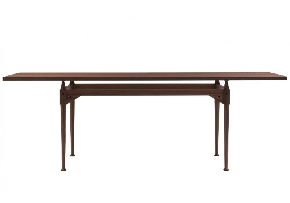 839 tl3 tavolo con piano in vetro cassina milia shop - Tavolo con piano in vetro ...