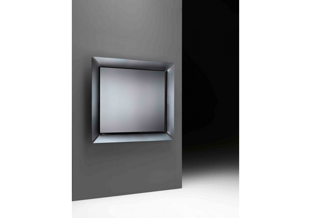Caadre tv mirror with integral television fiam milia shop for Tlvision miroir