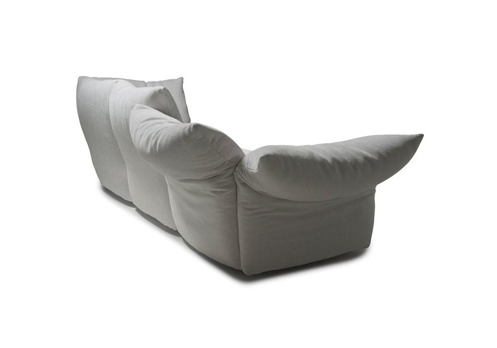 Peachy Standard 3 Seater Sofa Edra Milia Shop Inzonedesignstudio Interior Chair Design Inzonedesignstudiocom