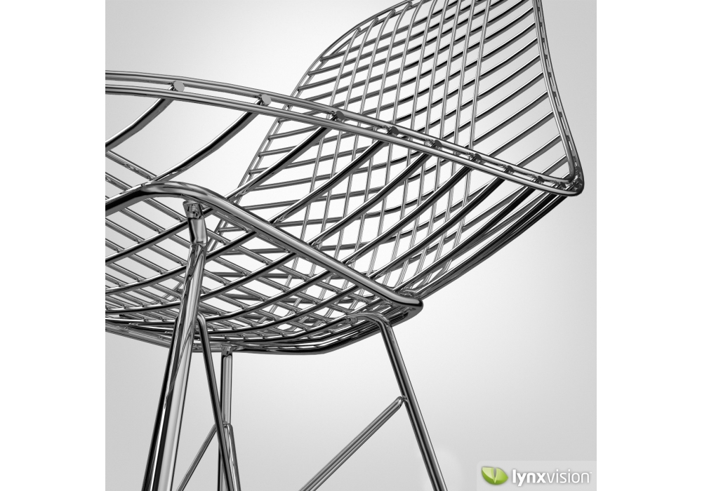 Wire chair dkr milia shop for Chaise eames dkr