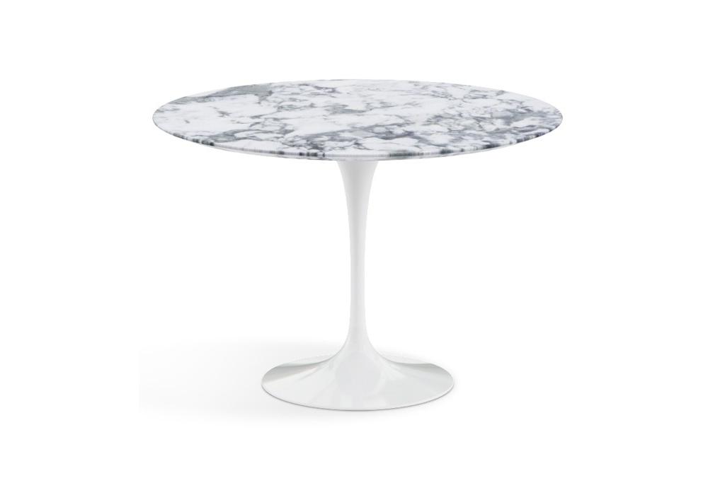 Tavolo Rotondo Bianco Knoll.Saarinen Tavolino Rotondo In Marmo Knoll Milia Shop