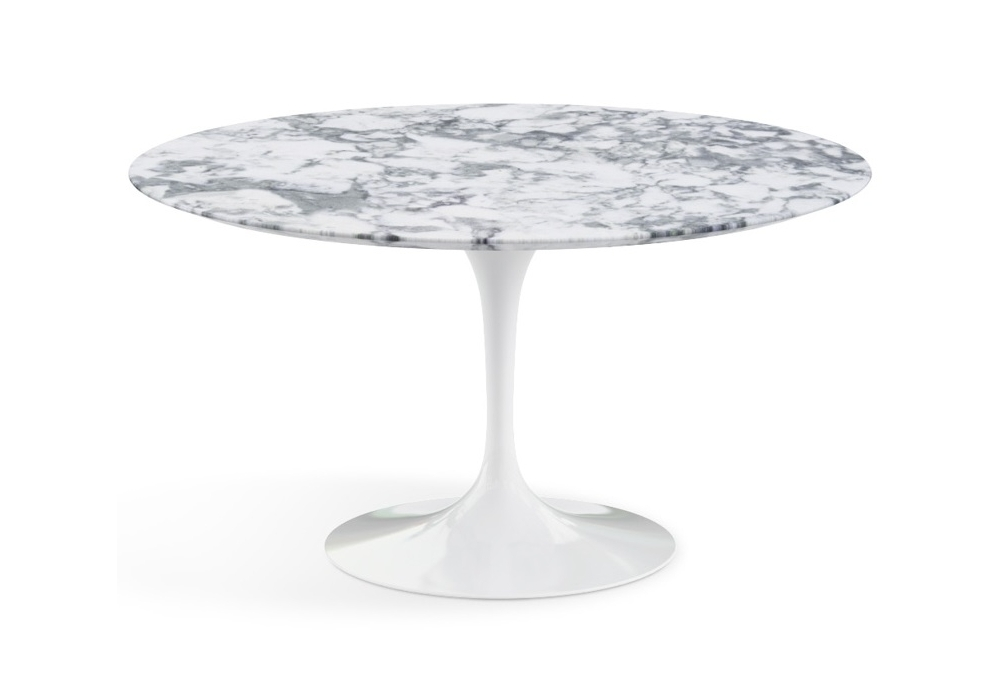 Saarinen table basse ronde de marbre knoll milia shop Table basse saarinen