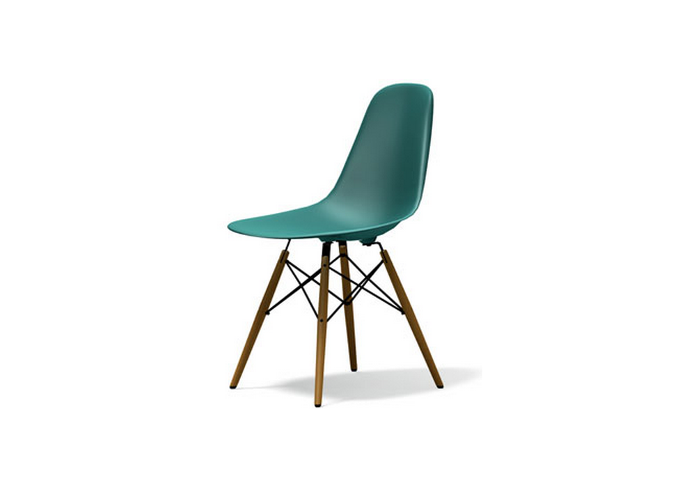 Eames plastic side chair dsw sedia milia shop for Sedia design vitra