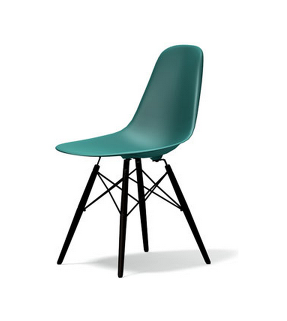 Eames Plastic Side Chair DSW Silla Vitra