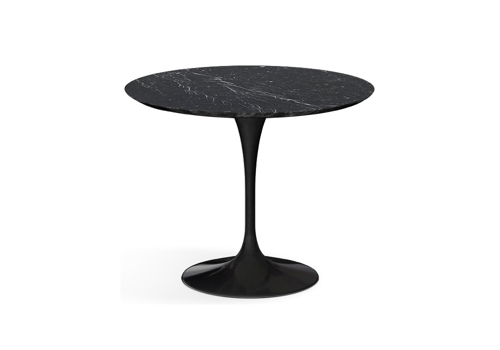 Saarinen round coffee table marble knoll milia shop - Table basse ronde industrielle ...
