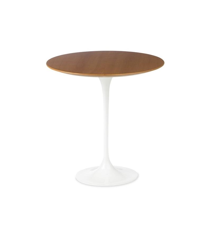Saarinen Round Coffee Table Wood Knoll Milia Shop