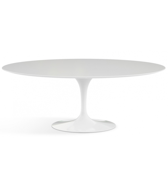 Saarinen Knoll Oval Table Wood