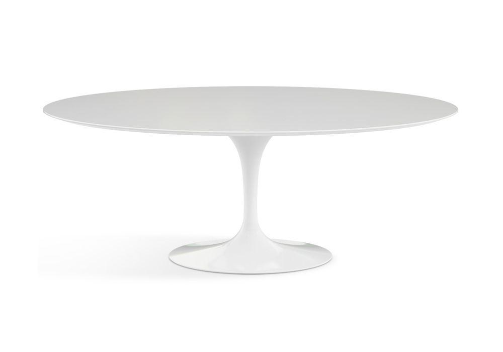 Saarinen Tavolo Ovale In Legno Knoll - Milia Shop
