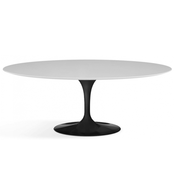 Saarinen Table Ovale De Bois Knoll