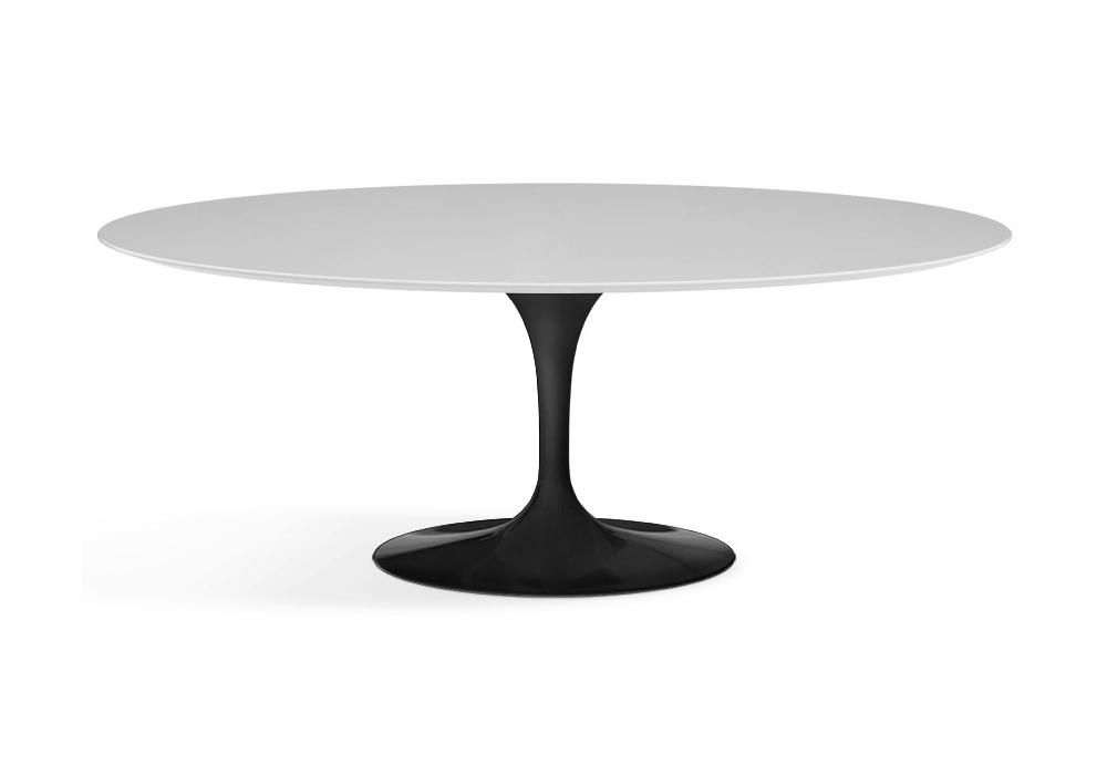 Saarinen Oval Table Wood Knoll Milia Shop
