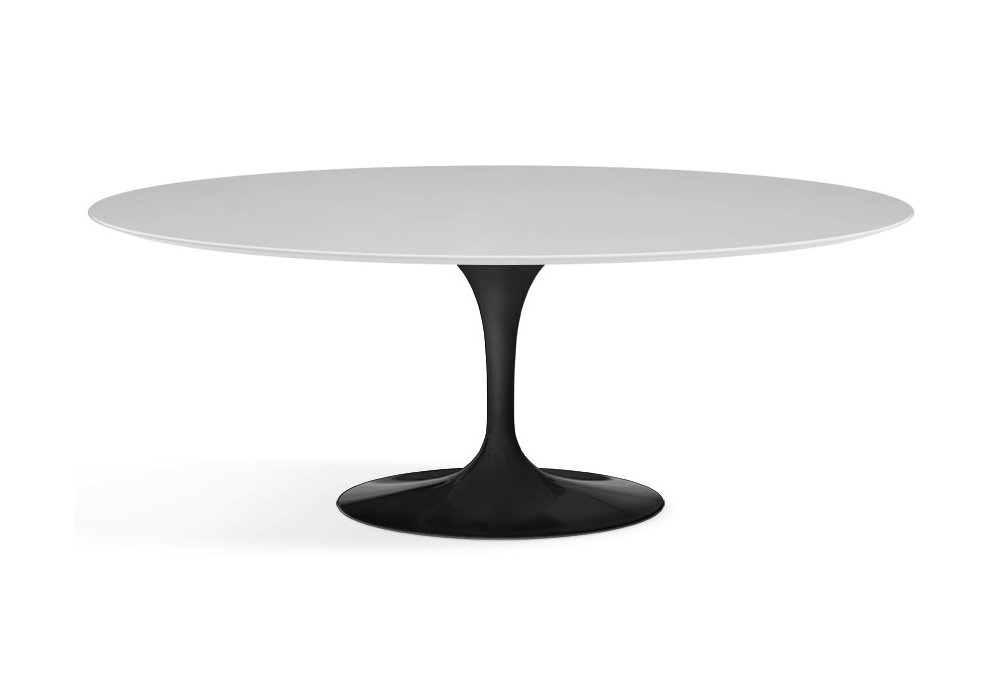 saarinen table ovale de bois knoll milia shop. Black Bedroom Furniture Sets. Home Design Ideas