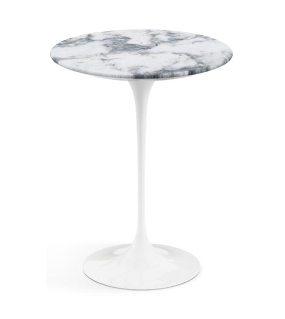 Saarinen Round Coffee Table Marble Knoll