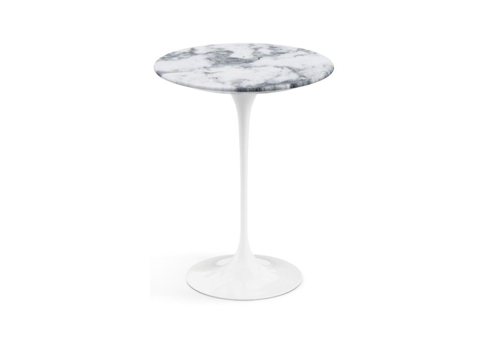 Tavolo Saarinen Marmo : Saarinen tavolino rotondo in marmo knoll milia shop