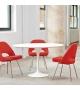 Saarinen Round Table Marble Knoll