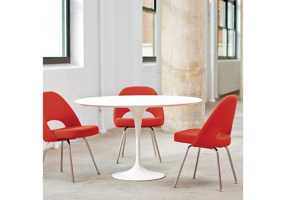 saarinen runder tisch aus marmor knoll milia shop. Black Bedroom Furniture Sets. Home Design Ideas