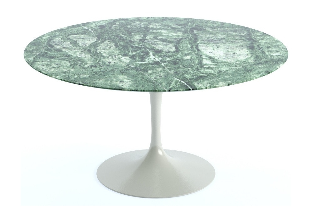 Charmant Saarinen Round Table Marble Knoll