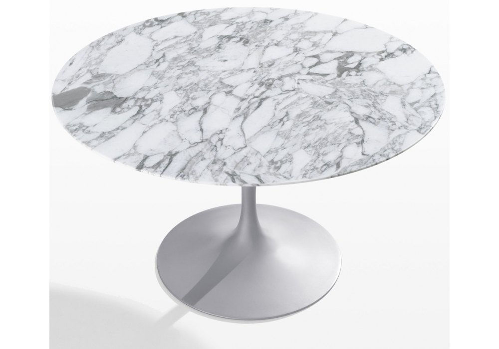 Saarinen Table Ronde De Marbre Knoll - Milia Shop