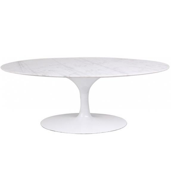 Knoll Saarinen Oval Coffee Table Marble