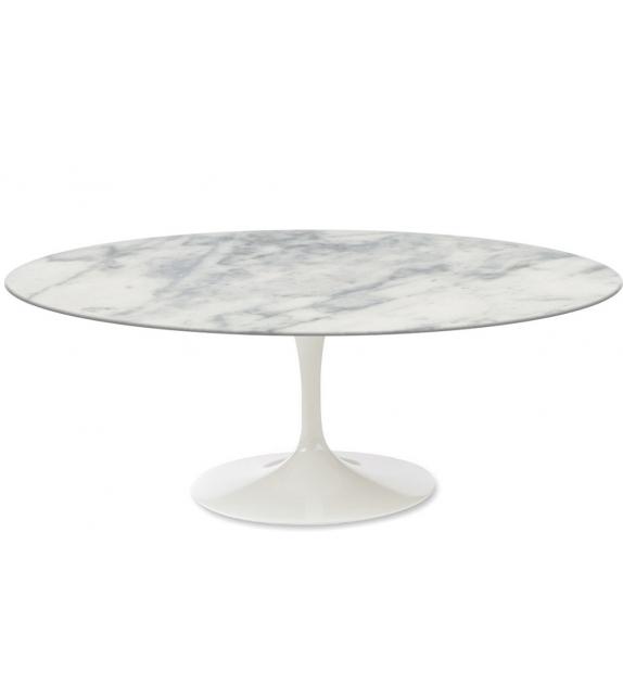 Saarinen table basse oval de marbre knoll milia shop - Table saarinen ovale occasion ...