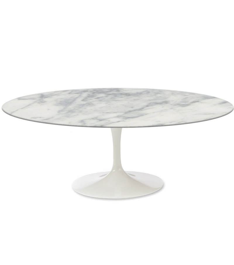 Saarinen tavolino ovale in marmo knoll milia shop - Saarinen table ovale ...