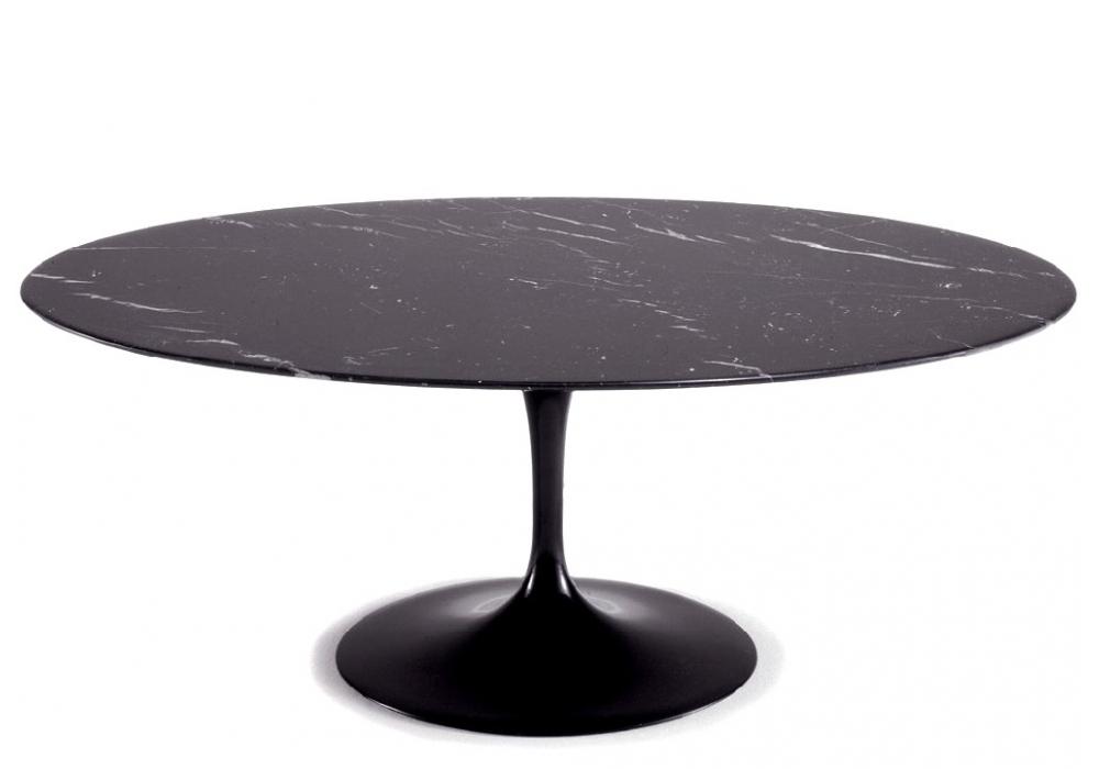 saarinen tavolino ovale in marmo knoll milia shop. Black Bedroom Furniture Sets. Home Design Ideas