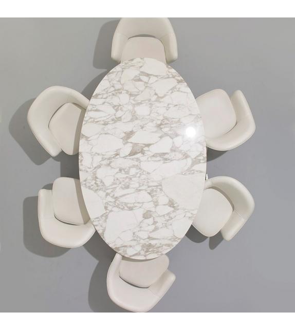 Saarinen Table Ovale De Marbre Knoll