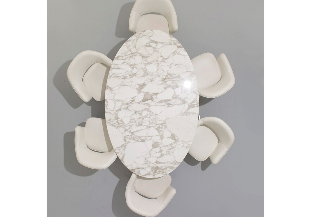 Saarinen Tavolo Ovale In Marmo Knoll Milia Shop