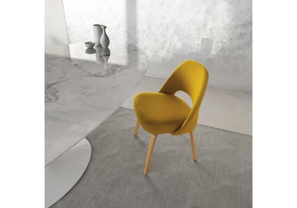 Tavolo Saarinen Misure : Saarinen tavolo ovale in marmo knoll milia shop