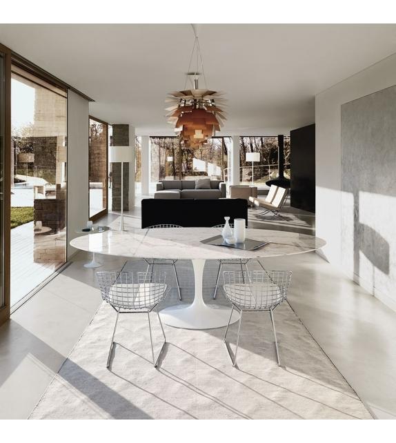 Saarinen Oval Table Marble Knoll