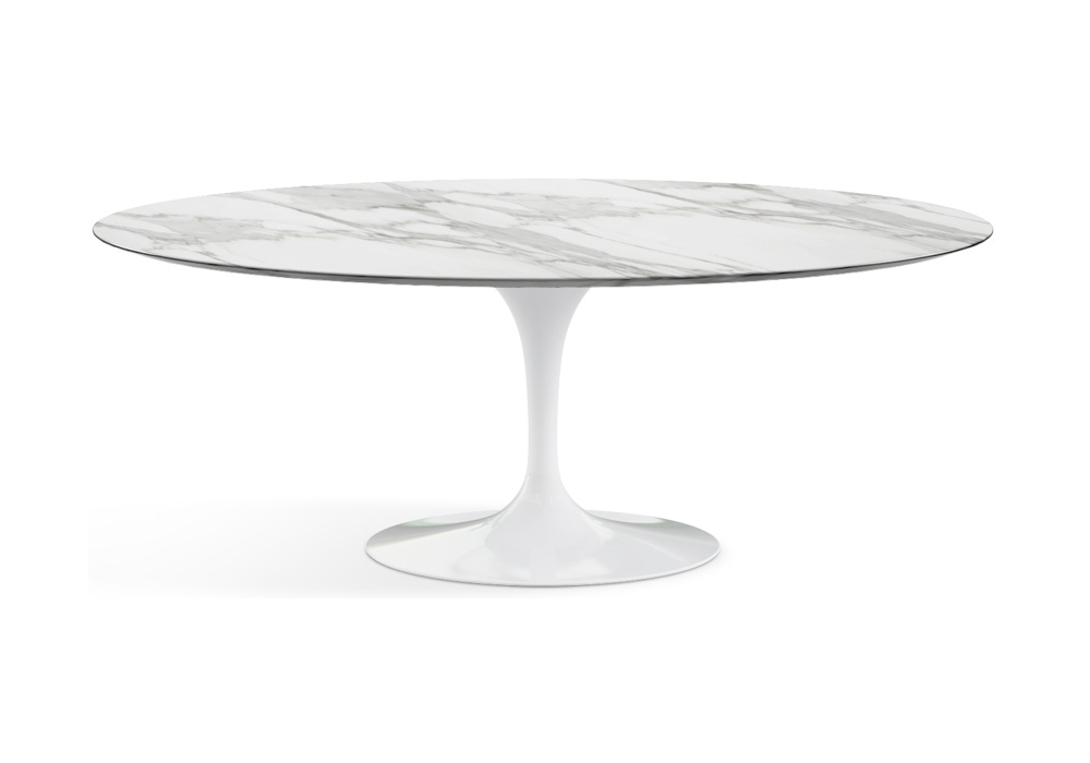 Saarinen Oval Table Marble Knoll Milia Shop