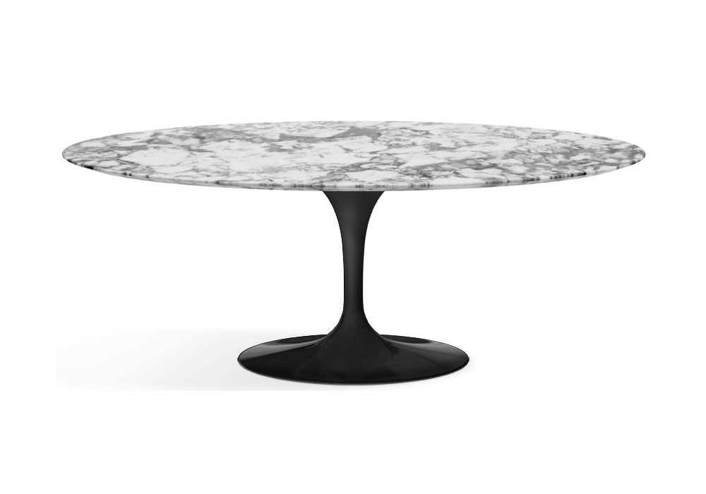saarinen table ovale de marbre knoll milia shop. Black Bedroom Furniture Sets. Home Design Ideas