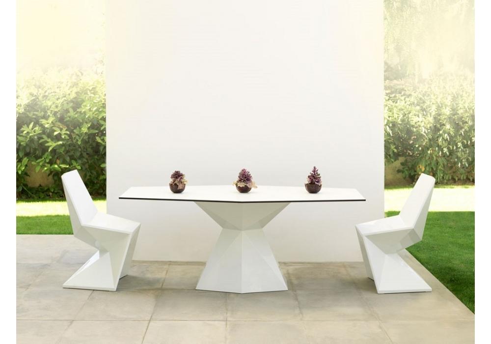 vertex table vondom milia shop. Black Bedroom Furniture Sets. Home Design Ideas