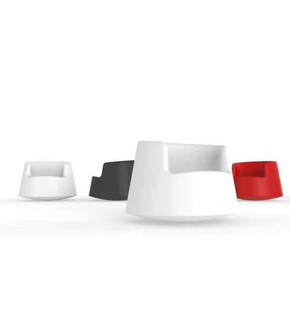 roulette rocking armchair vondom milia shop. Black Bedroom Furniture Sets. Home Design Ideas