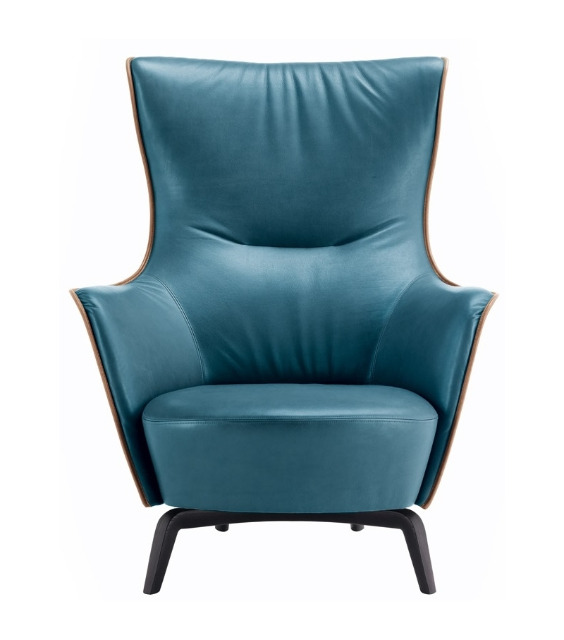 Mamy Blue Swivel Armchair Poltrona Frau - Milia Shop 438cd11e0ef