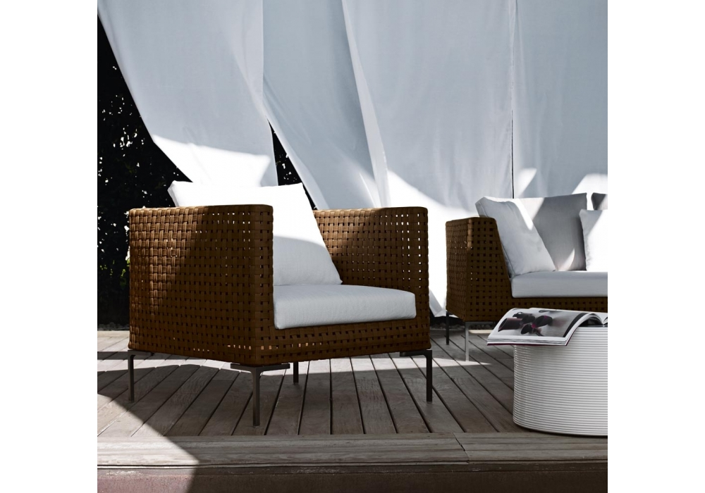 charles outdoor sessel b b italia milia shop. Black Bedroom Furniture Sets. Home Design Ideas