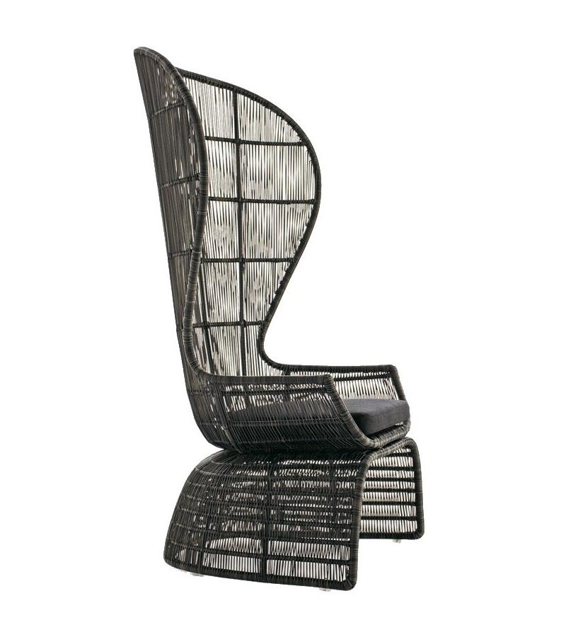 Crinoline C5P B&B Italia Outdoor Armchair