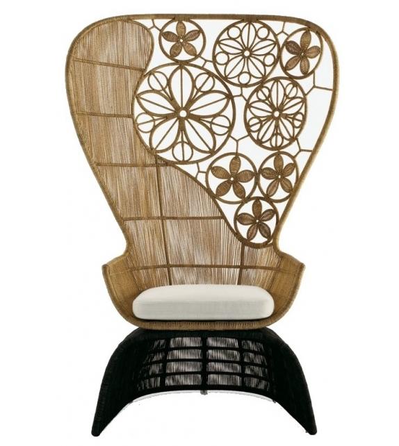 Crinoline C5C B&B Italia Outdoor Armchair
