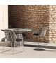 Crinoline B&B Italia Outdoor Chair With Armrests