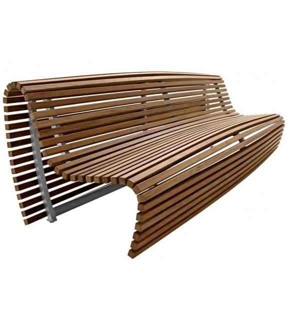 Titikaka B&B Italia Outdoor Bench