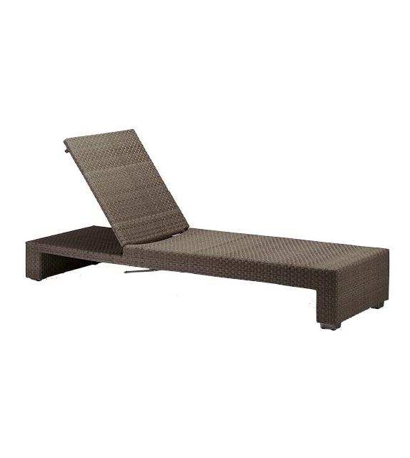 lounge chaise longue r glable dedon milia shop. Black Bedroom Furniture Sets. Home Design Ideas