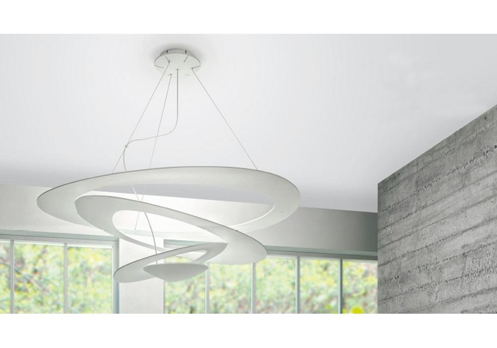Pirce. beautiful artemide pirce micro parete wall light white with