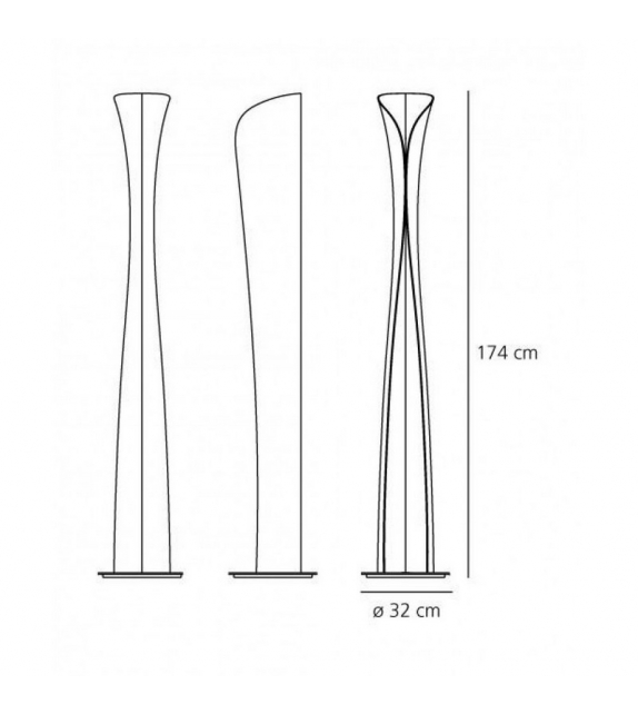 Cadmo Led Floor Lamp Artemide