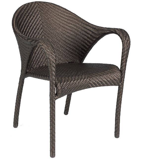 tango armchair dedon tango by dedon is flowing shapes and sensual